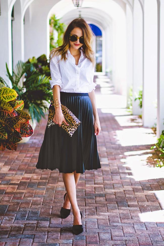 Faldas de piel/polipiel.