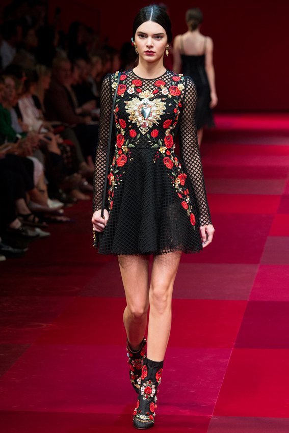 kendall-jenner-fashion-week-diet-dolce-gabbana