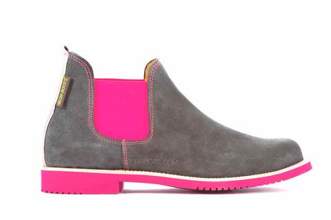 Neon_Boots_Serraje_Gris_-_Elastico_y_Suela_Fucsia_Fluor_1_large