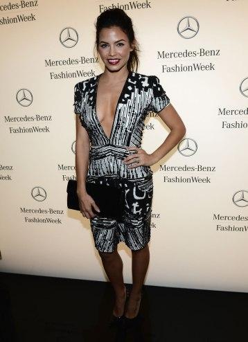 JENNA DEWAN TATUM at Fashion Week