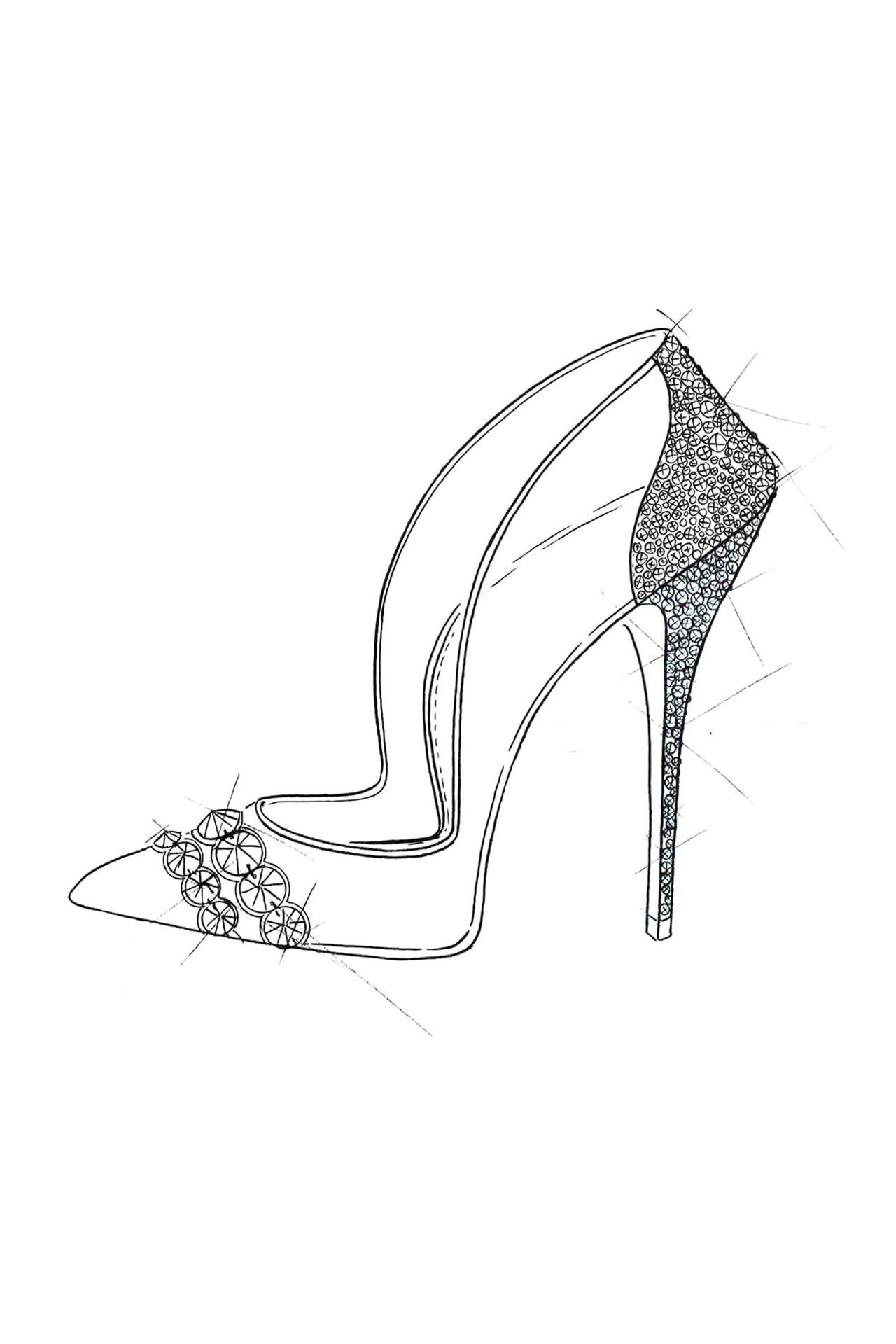 Cristal De Para Cenicienta Una Zapatos GMzpqSUV