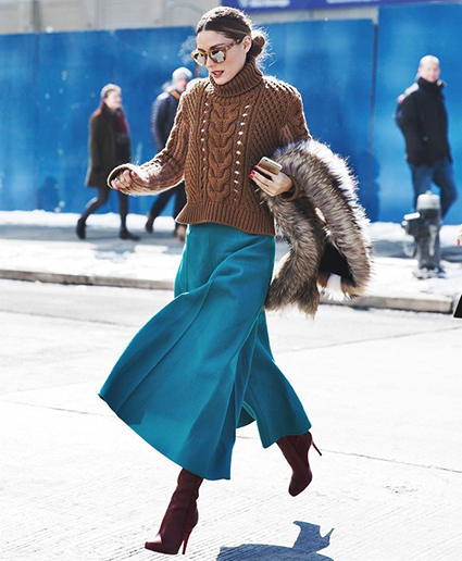 new_york_fashion_week-fall_winter_2015-street_style-nyfw-olivia_palermo_culotte-kitwear-fur_scarf-790x1185