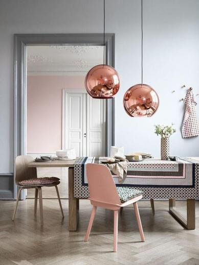 pantone-color-of-the-year-2016-rose-quartz-dining-room-color-schemes