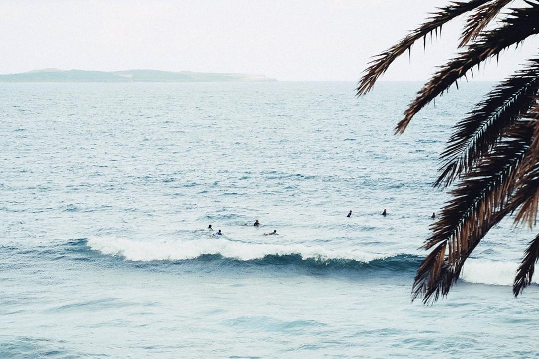 Ocean, surf, beach